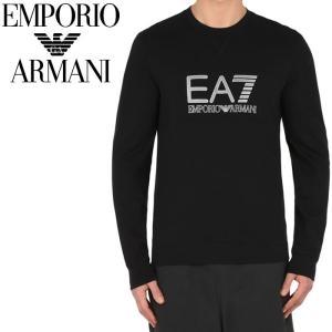 エンポリオアルマーニ EMPORIO ARMANI EA7 トレーナー ブラック 3ypm83 pj05z 1200 スウェット メンズ 【2017年 新作】【送料無料】 global-round