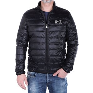 エンポリオアルマーニ EMPORIO ARMANI EA7 ダウンジャケット ブラック 8npb01 pn29z 1200 アウター ブルゾン アウトドア 防寒着 ダウン ジャケット 新作|global-round