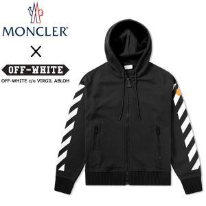 モンクレールオー MONCLER O パーカ ブラック 8400150 8098z ジップアップ メンズ パーカー オフホワイト OFF-WHITE 【2017年 春夏 新作】【送料無料】|global-round