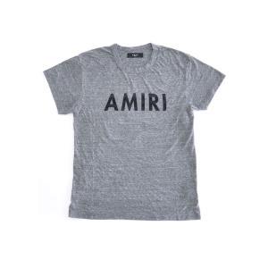 AMIRI アミリ クルーネック Tシャツ MST05-DIS209AM4 グレー ヴィンテージ Tシャツ 【2017年 春夏 SS 新作】【送料無料】 global-round