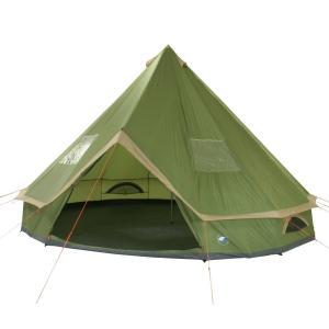 10Tアウトドア 10-P ワンポールテント Green global-shop-rb