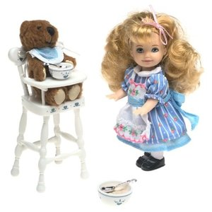 Barbie Goldilocks and the Three Bears Kelly Storybook Collectible|global-work