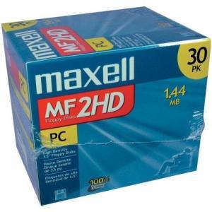 マクセル maxell 3.5インチFD Windowsフォーマット済 30枚パック MF2HD|global-work
