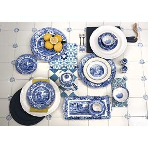 Spode Blue Italian Covered Sugar Bowl by Spode|global-work