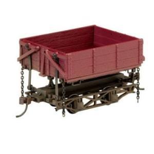 On30 Spectrum Wood Side Dump Car (3) by Bachmann Trains|global-work