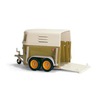 シュライヒ ファームワールド 馬運搬車 (グリーン) フィギュア 40185|global-work