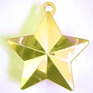 Anagram International Star Weight, 170g, Gold by Anagram International|global-work