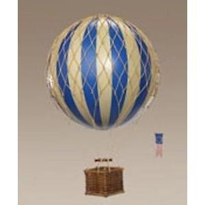 Authentic Models Montgolfi*re d*corative Bleu * 18*cm|global-work