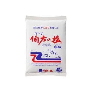 伯方の塩 1KG × 20袋の商品画像
