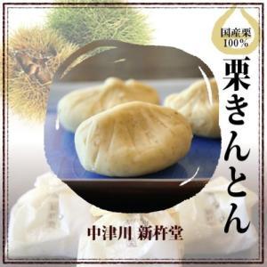 国産栗100%使用 「栗きんとん」。 おせち料理の栗きんとんとは違い、中津川ふるさと自慢の和菓子です...