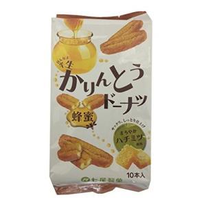 七尾製菓 半生かりんとうドーナツ 蜂蜜 10本×12袋