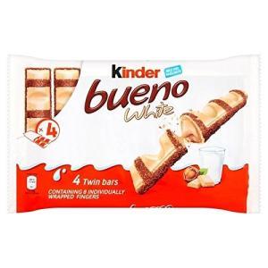 キンダーブエノ白4パック4×39グラム (x 6)Kinder Bueno White 4 Pack...