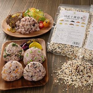 厳選国産 十雑穀米 500g 無添加 丸麦 大麦 、押し麦、黒米、赤米、大豆 非組換え 、もちきび、もちあわ、もろこし、ひえ、うるちあわ の商品画像|ナビ