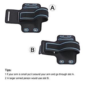 強力なマジックテープ:マジックテープが丈夫で吸着力が良くて、腕にしっかりと固定することが出来ます。完...
