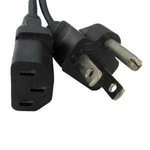 電源ケーブル IEC-105-1.8m 平2ピン+アースピン|globalmart