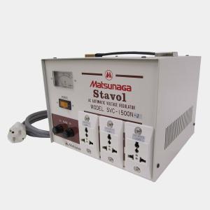 SVC-1500N-J 安定化機能付き 変圧器 (AVR)|globalmart