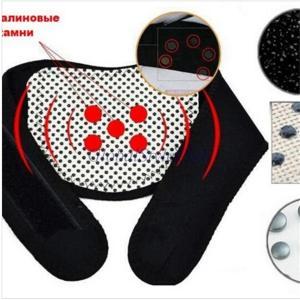 ソフトブラック磁気ネック中括弧はトルマリンベルト治療自発暖房頭痛マッサージガードプロテクター製品