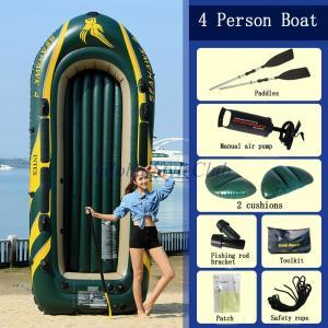インテックス肥厚4人使用インフレータブルボートディンギー釣りカヤック折りたたみ突撃ボート|globalstyleclub