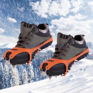 高品質冬アンチスリップ氷クリートブーツ靴18-アイゼングリッパーチェーンスパイク雪ウォーキングアイスグリッパー2サイズ|globalstyleclub