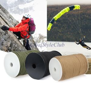 9ストランド100メートルストラップロープパラシュートコードコア550タイプ救助テントロープハイキング登山キャンプサバイバル機器|globalstyleclub