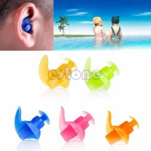 快適なホット1ペア実用大人抗ノイズ柔らかいシリコーン水泳防水耳栓|globalstyleclub