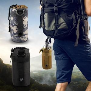 戦術水ボトルポーチ軍事システムケトルバッグ付きバックルフックハイキングキャンプボトルキャリアウエストバッグ|globalstyleclub
