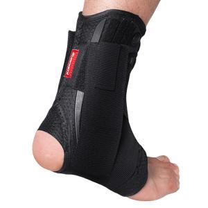 足首のサポートブレーススポーツフットスタビライザー装具調節可能なアンクルストラップパッド通気性サッカー足首靴下プロテクター