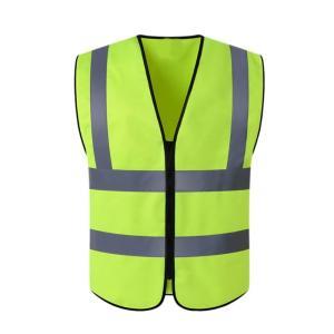安全ベスト視認性の高い反射職場道路作業セキュリティジャケット屋外チョッキサイクリングスポーツウェア制服新しい|globalstyleclub