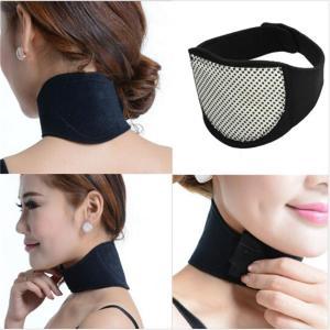 1ピース磁気治療ネックサポートネック健康ケア保護自発トルマリン-暖房頭痛ベルトネックマッサージャー