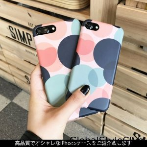 iPhoneケース/iPhoneカバー/幾何学模様/泡柄/ソフトケース/スマホケース/スマホカバー/携帯ケース/携帯カバー/多機種対応|globalstyleclub