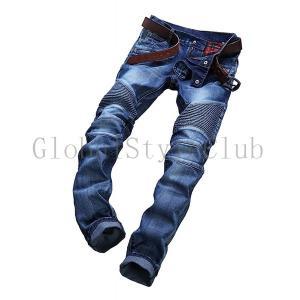バイクパンツ ライディングパンツ メンズ ジーンズ バイク用 ファッション バイクジーンズ メンズ ...