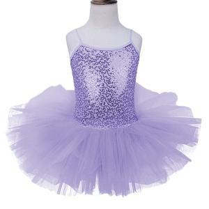 キッズ女の子バレエドレス体操レオタードスパンコールダンス衣装ドレス素敵な女の子バレエドレスプロフェッショナルバレエチュチュドレス|globalstyleclub