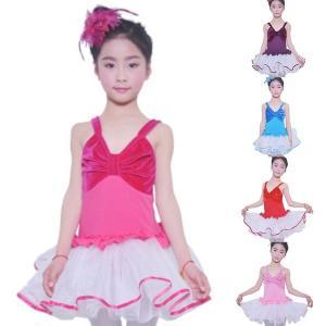 2019新しい夏ベルベットスプライス綿体操ダンスレオタード女の子子供子供ノースリーブレオタードバレエダンスドレスダンスウェアパーティー|globalstyleclub