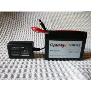 バイクバッテリー充電器 密閉式バッテリー大型も対応 バイクバッテリー充電器 DC13.8V (1A)