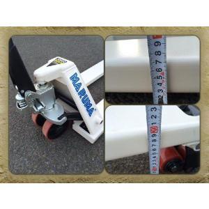 3t対応!!【低床】ハンドトラック ハンドリフト 標準幅 530mm ハンドパレット globatt-ej 03