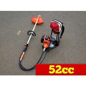 背負い式草刈り機 BG415 52ccタイプ エンジン式背負草刈機|globatt-ej