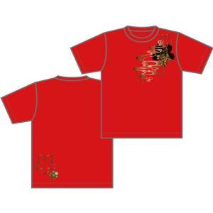 広島神楽TシャツB|globe-iine