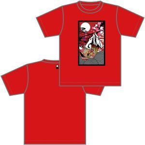 広島神楽TシャツC|globe-iine