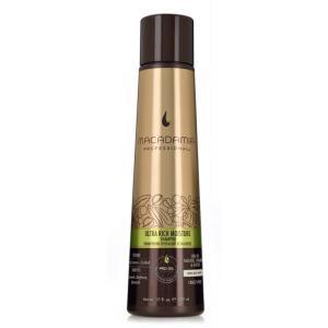 ごわつくクセ毛用のシャンプー。 マカダミアオイルとアルガンオイルを軸に、髪の水分バランスを整える数種...