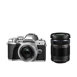 OLYMPUS ミラーレス一眼カメラ OM-D E-M10 MarkIII EZダブルズームキット シルバー|globetrotter-shop