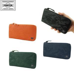 吉田カバン PORTER WONDER ポーター ワンダー 長財布  革財布  メンズ342-06033 迷彩|gloopy-komono