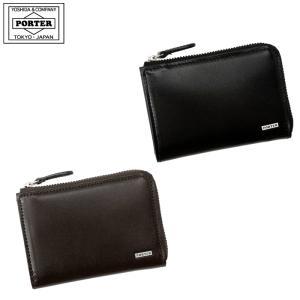 吉田カバン ポータール PORTER シーン コインケース 小銭入れ パスケース ラウンドファスナー型 110-02929 |gloopy