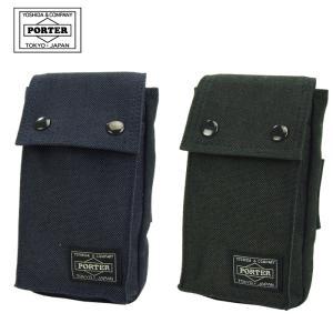 【キャッシュレス5%還元!!】吉田カバン ポータースモーキー モバイルポーチ スマートフォンケース 592-09988|gloopy