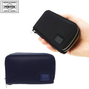 【キャッシュレス5%還元!!】吉田カバン ポーター リフト コインケース メンズ ラウンドファスナー コイン キーケース PORTER LIFT  822-16110|gloopy