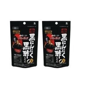 小林製薬 小林製薬の栄養補助食品熟成黒にんにく黒酢もろみ90粒×2|glorymart