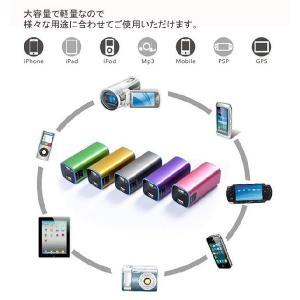 モバイルバッテリー スマホ 充電器 大容量 スマートフォン 10000 mAh iPhone iPhone5 iPhone5s 対応 | 10000-POWER/PB-10000A 定形外送料無料|glow-japan|02