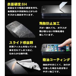 特価 iPhone5 5S 5C SE 強化ガラス ガラスフィルム 保護フィルム 硬度9H 極薄 0.26mm ゆうパケット送料無料|glow-japan|02