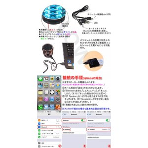 Bluetoothスピーカー 高音質 重低音 ワイヤレススピーカー ブルートゥーススピーカー ハンズフリー ウーファー ウーハー定形外郵便送料無料|glow-japan|04