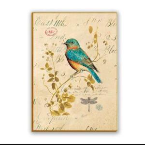 ファブリックパネル 鳥 キャンバス アート インテリア 絵画 壁掛け 送料無料|glow-japan