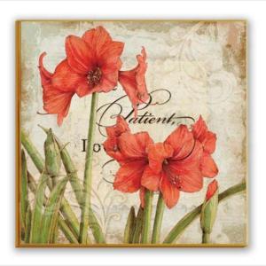 ファブリックパネル 花 キャンバス アート インテリア 絵画 壁掛け 送料無料|glow-japan